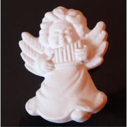 aniołek z harmonijką biały 5