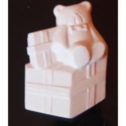 miś z prezentem biały 7