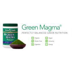 Młody Jęczmień Green Magma 321g. Cukrzyca Nowotwór