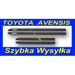 TOYOTA AVENSIS 2003- LISTWY BOCZNE SAMOPRZYLEPNE