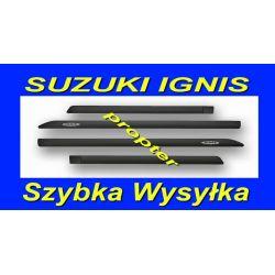 SUZUKI IGNIS  4 LISTWY BOCZNE SAMOPRZYLEPNE