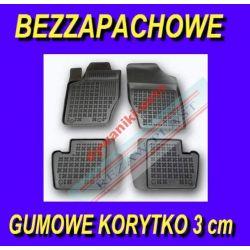 PEUGEOT 307 2001-2007 DYWANIKI GUMOWE KORYTKA 3cm