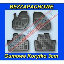 VOLVO V40 od 2012 DYWANIKI GUMOWE KORYTKA 3cm Gumowe