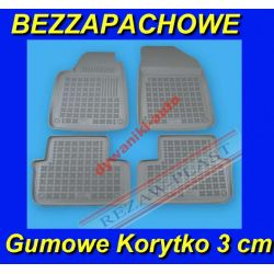 OPEL ASTRA 2 G 3 H od 1998 SZARE DYWANIKI GUMOWE