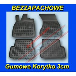 AUDI A7 A6 C7 od 2011 DYWANIKI GUMOWE KORYTKO 3cm Gumowe
