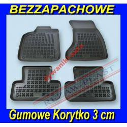 AUDI Q3 od 2011 DYWANIKI GUMOWE KORYTKO 3cm Gumowe