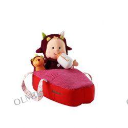 Baby Lucy Jeżyk Lalka szmacianka w nosidełku Lilliputiens