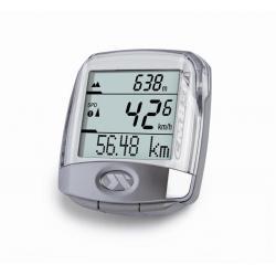 Licznik rowerowy CICLOSPORT CM 8.3 AM bezprzewodowy cyfrowy srebrny