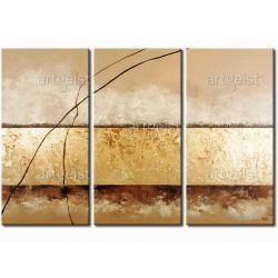 obrazy ręcznie malowane w technice strukturalnej boki XXL 5cm