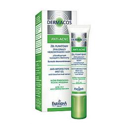 FARMONA DERMACOS ANTI-ACNE Żel punktowy 15ml