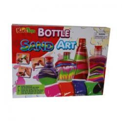 Zestaw Artystyczny Kolorowy Piasek - Bottle Sand Art