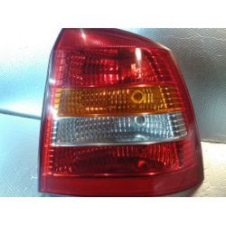 Opel Astra II HB lampa tylna prawa kompletna wkład + żarówki