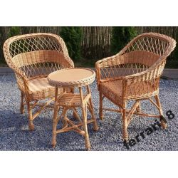 Fotele i stół meble ogrodowe GRATIS PODUCHY OKAZJA