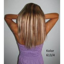DOPINKA CLIP ON 15cm włosy prawie naturalne 52cm!
