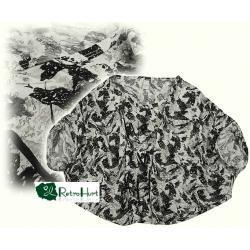 VILA krótka wzorzysta bluzka - rozmiar M