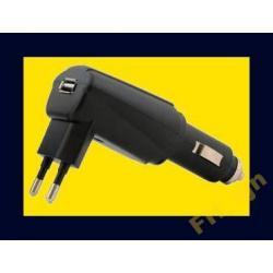 ŁADOWARKA 12-24V/230V USB E-PAPIEROS / MP3 / MP4