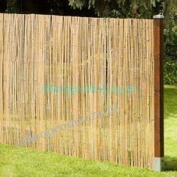 MATA BAMBUSOWA 1,5x5m Z LISTEWEK OSŁONA NA PŁOT BALKON