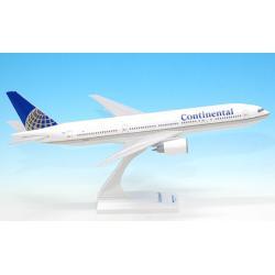 Model Boeing B777-200 Continental Airlines 1:200 Wysokie  Detale(na zamówienie)