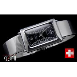 BISSET BS25C17 SWAROVSKI STERLING SILv SWISS MADE
