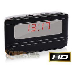Zegar LCD X5000 ukryta mini kamera szpiegowska HD (detekcja ruchu)