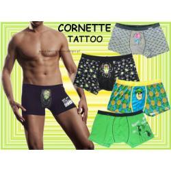 Bokserki CORNETTE szorty Tattoo NOWE wzory 2012 M
