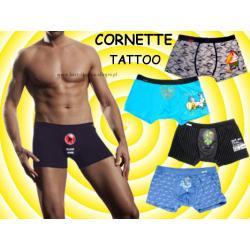 Bokserki CORNETTE szorty Tattoo NOWE wzory 2012 L