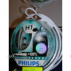PHILIPS 2x H1 55W 12V X-TREME VISION żarówki halogenowe