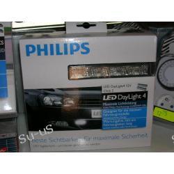PHILIPS Zestaw Świateł Dziennych DAYLIGHT 4 LED 12V Click 2 światła do jazdy dziennej 12V 5W