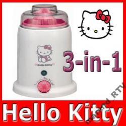 HELLO KITTY PODGRZEWACZ ELEKTRONICZNY 3 W 1