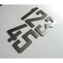 Numer Numery Cyfra na Drzwi, Dom z aluminium 10 cm
