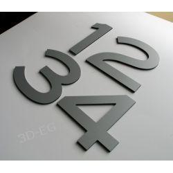 Numer Numery Cyfra na Drzwi, Dom z alu 10 cm BL