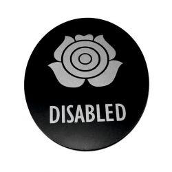 Piktogram Symbol Znak WC dla Niepełnosprawnych SK Dom i Ogród