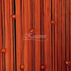 Makarony z koralikami pomarańczowe koraliki, pomarańczowy makaron 160x295...