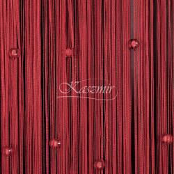 Makarony z koralikami czerwone koraliki, czerwony makaron 160x295...