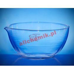 Parownica płaskodenna z wylewem szklana - 45 ml