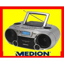 BOOMBOX   MEDION RADIO CD MP3 USB KASETA ! GLIWICE