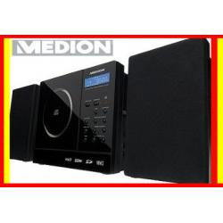 HIT WIEŻA  CD USB SD MP3 RADIO PIANO BLACK