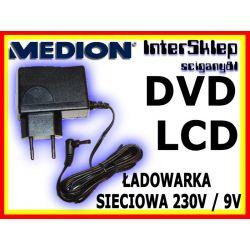 ŁADOWARKA SIECIOWA ZASILACZ PRZENOŚNE DVD 230V/9V