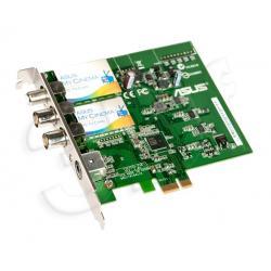 Tuner TV ASUS My Cinema-ES3-110 (TV cyfrowa sat. DVB-S, naziemna DVB-T, TV analog, Radio FM. pilot) (karta PCI-Express x1)...