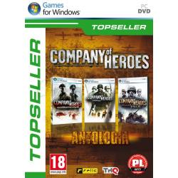 Gra PC TPS Company of Heroes Antologia (podst. + Na linii frontu + Tales of Valor)...