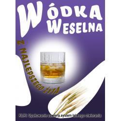 Etykiety na wódkę Milusia