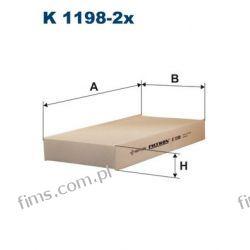 K1198-2X FILTRON FILTR KABINOWY HONDA CIVIC CR-V II FR-V 80292SCAE11 CU2327-2 40F4004