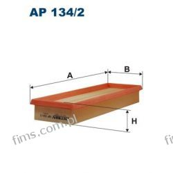 AP134/2 FILTRON FILTR POWIETRZA CLIO II KANGOO TRAFIC II  MOVANO VIVARO  C3251/1  A1232  LX704/1  U737