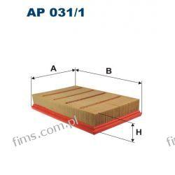AP031/1 FILTR POWIETRZA BMW X3 (E83) 2.0 9/05->12/10 ,AP031/1,13 71 3 419 934,13713419934,C2589,A1256,LX1053, Klocki