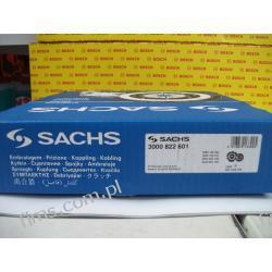 3000822601 SACHS Sprzęgło (bez łożyska) 210mm VW/AUDI/SKODA/SEAT 1,6 (74kW) 96-