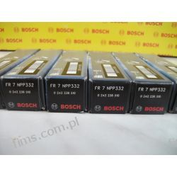 0242236510 BOSCH świeca zapłonowa FR7NPP332 (cena za 1 szt.) BMW;SAAB 9-3 2.8T V6 03.05-