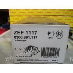 ZEF1117 BERU przewody zapłonowe AUDI A3/A4; SEAT Ibiza III;SKODA Octavia;VW Bora/Golf IV/Passat 1.6-2.0 01.95- Iskrowe