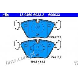 13.0460-6033.2 ATE KLOCKI HAMULCOWE BMW 5 E34 88-97  PRZÓD  GDB916