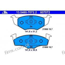 13.0460-7072.2 ATE KLOCKI HAMULCOWE VW GOLF III 93-97  PRZÓD  1H0698151A  GDB1218