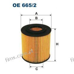 OE665/2 FILTRON FILTR OLEJU MAZDA 3 6 CX-7 MPV 2,3I 6/02   L32114302  L321143029A  HU711/2x  ADM52114